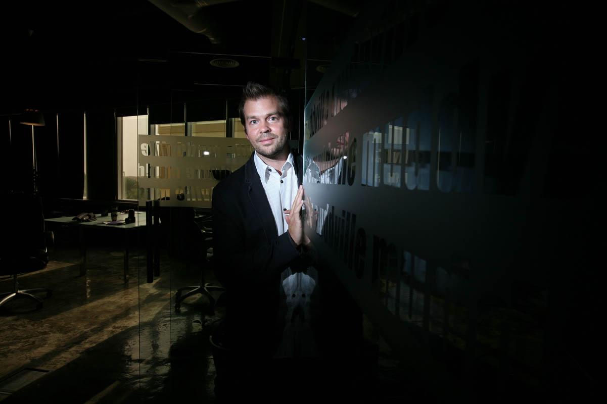 Jac Mulder, film-maker and script writer.