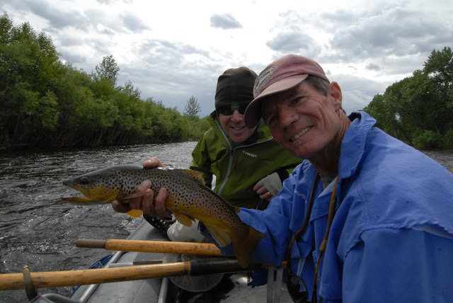 The guides love a day on the Beaverhead.