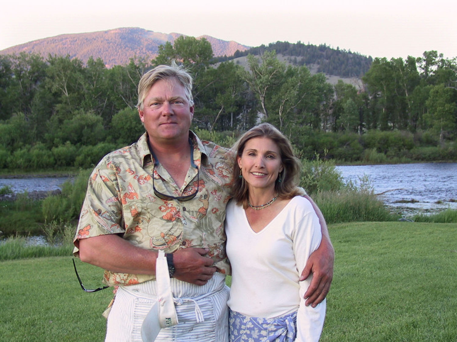David and Christine Decker own the best fly fishing lodge in Montana called the Complete Fly Fisher.