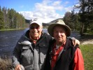 Two best friends having the best of times on the Big Hole River fly fishing for memories and catching them.