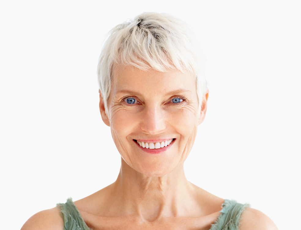 Smiling Woman at Fair Lakes Family and Cosmetic Dentistry