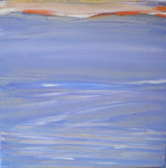 Thus far I have painted 106 False Bay works, they are small paintings which make up ONE WORK.
