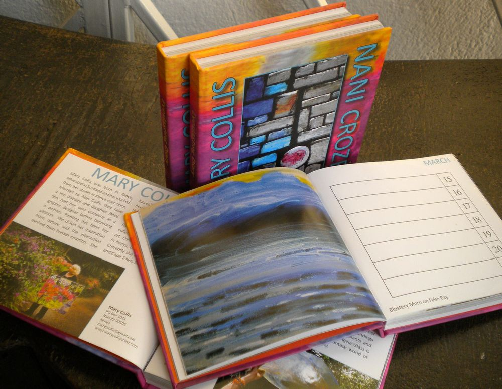 104 colour imagesDiary with substantial address book.   Can be used in a variety of ways.