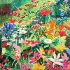 Monet's Garden, Private Collection by Mary Collis