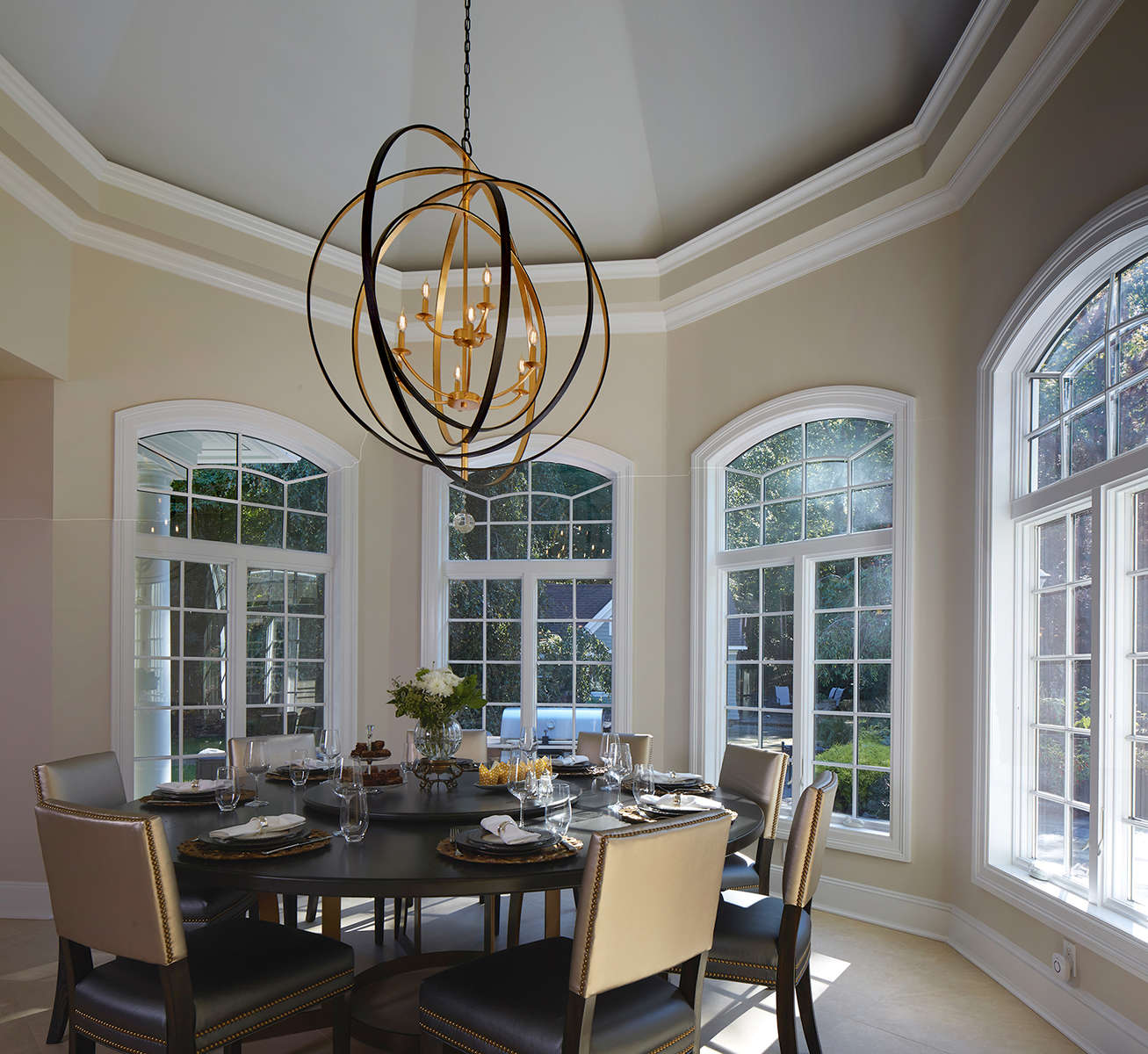 Belle Terre kitchen renovation with eat in dining area