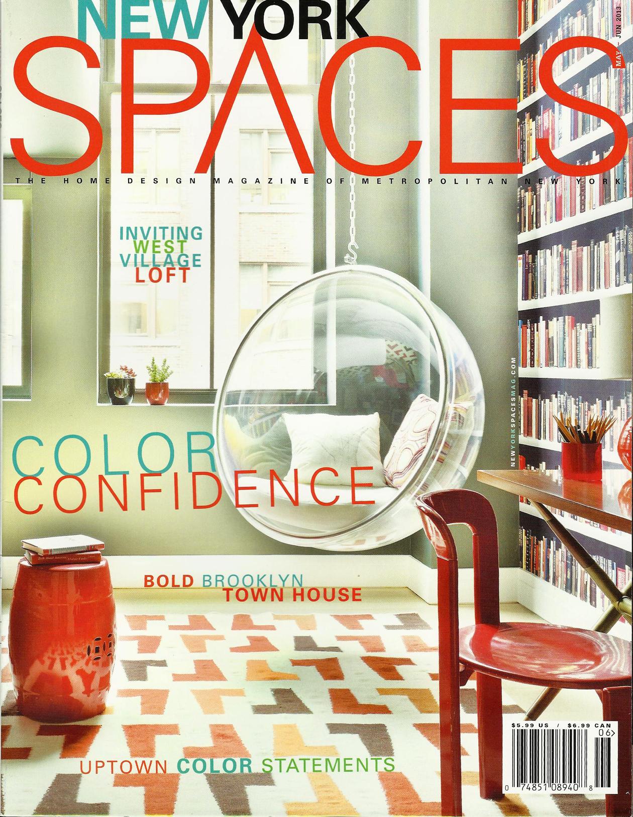 New York SpacesMay / June 2013