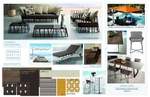 Outdoor Furniture Design Presentation with Modern Bronze