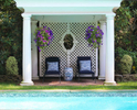 Outdoor Spaces with Pergola