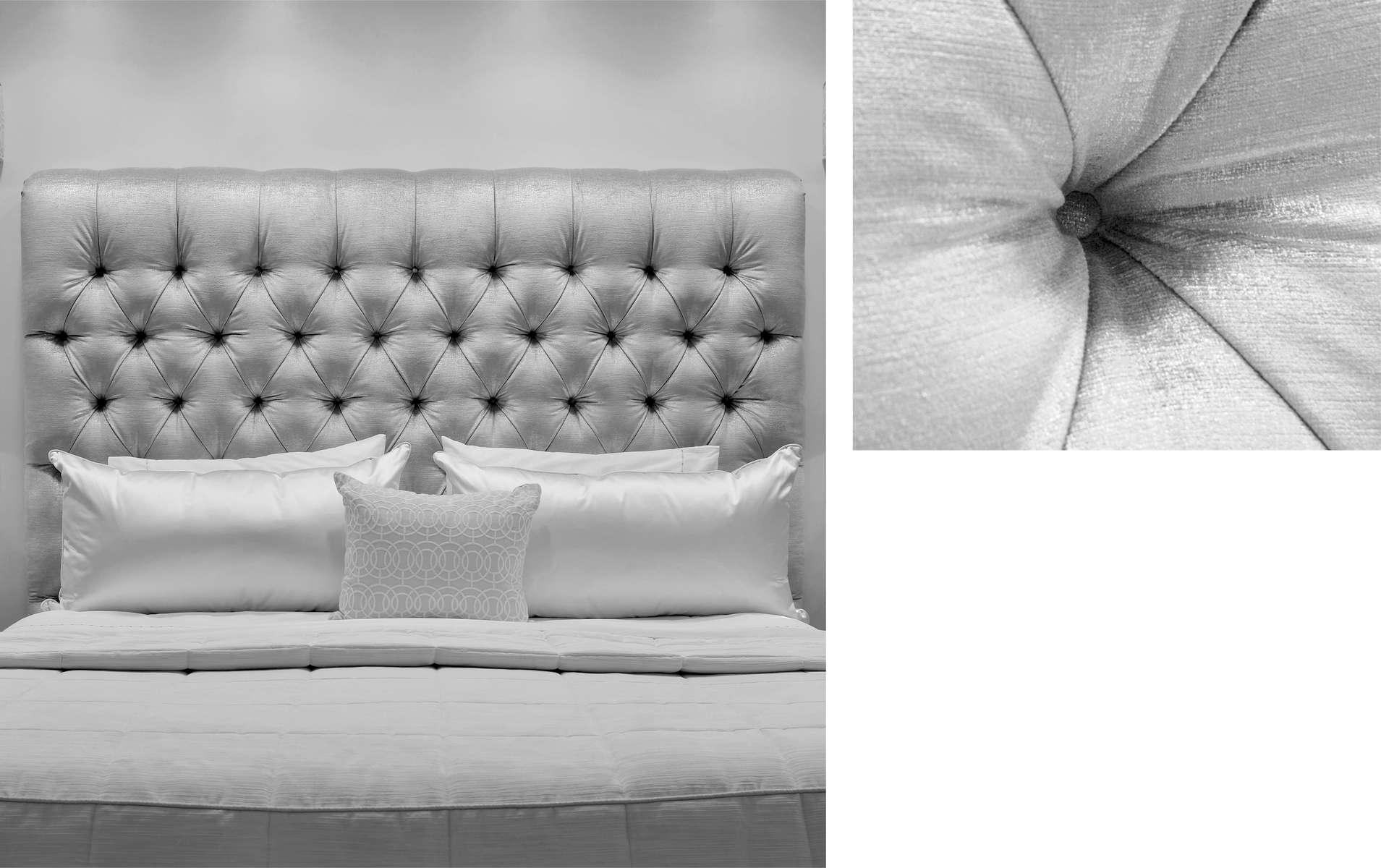 Diamond Tufted Headboard Bespoke Furniture Deborah