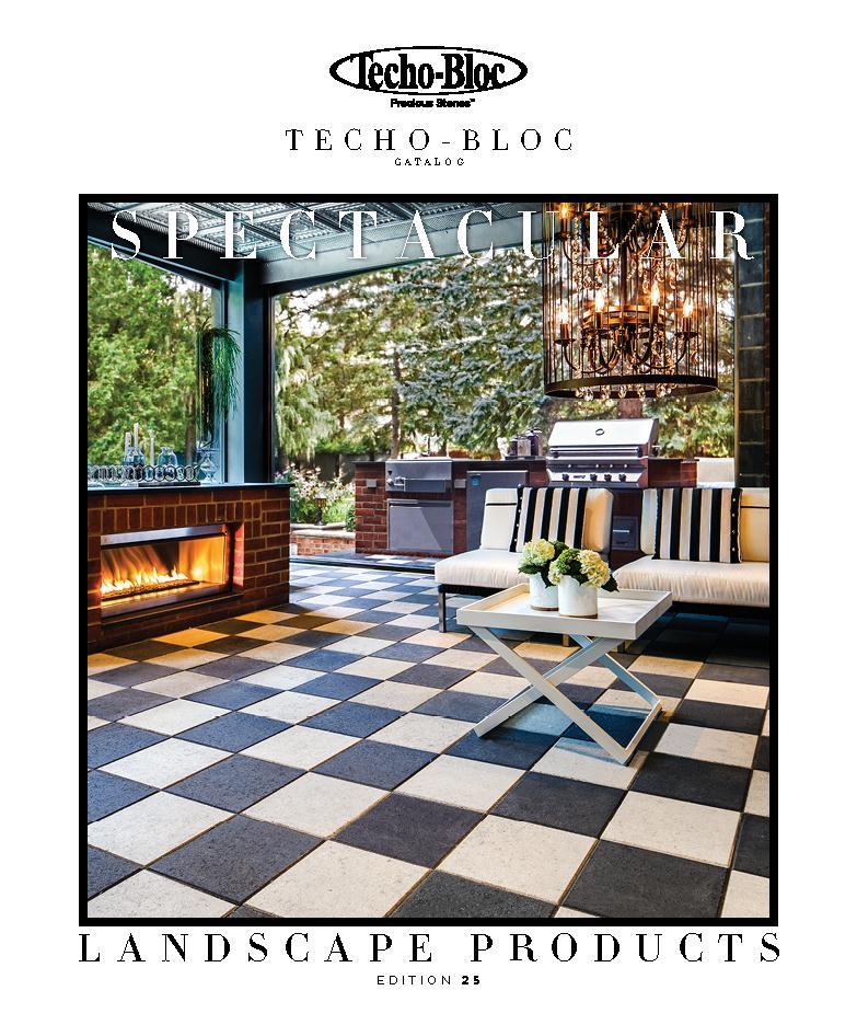 Techo-Bloc 2015 Catalog