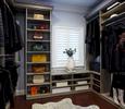 Transitional Walk-In Closet
