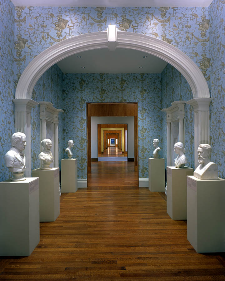 CIncinnati Art Museum, Cincinnati Wing, <u>KZF Design</u></a>, 2003 AIA Honor Award, Cincinnati Magazine Interior Design Award