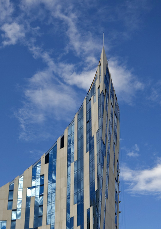 The Ascent by Daniel Libeskind, in Covington, Kentucky.  Developed by Corporex