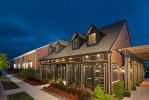 The clubhouse at Bishops Gate by Towne Properties, Mason, Ohio