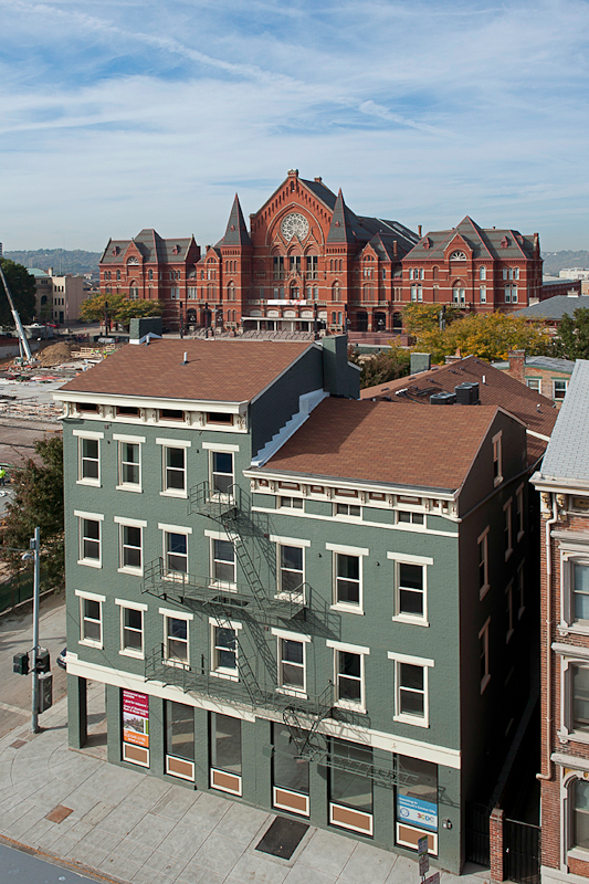 3CDC- City Home Development in Cincinnati's Over-the-Rhine with Music Hall