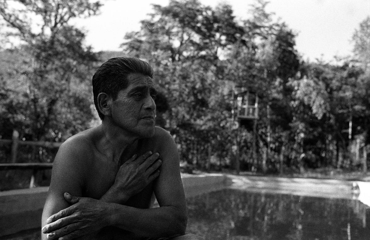 Carsenio Neihual Catrilaf has been working for 40 years in Santiago before finally returning back home to realize his dream creating a small eco-camping by the river near Liquine. Now he's worried that the construction of dams upriver will ruin his business reducing the waterflow and polluting the river running by his campingground.