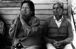 Mr. and Mrs. Hueicha are living very close to the river in the small settlement of Reyehueico and are worried that their house and fields will be flooded as a consequence of the planned dams.