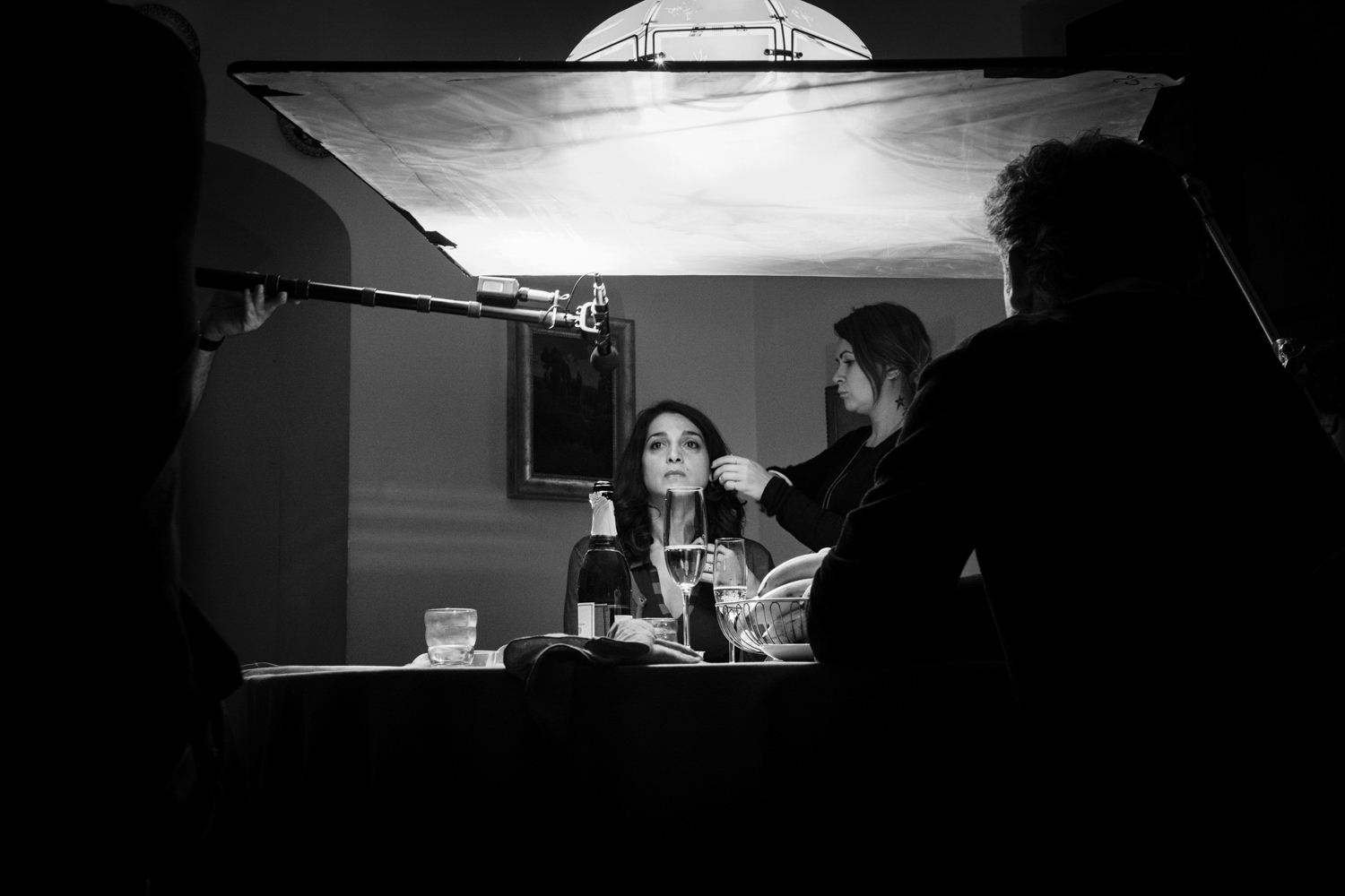 Still photos and backstage from the set of {quote}La Fuga (Girl in Flight) by italian film director Sandra Vannucchi.