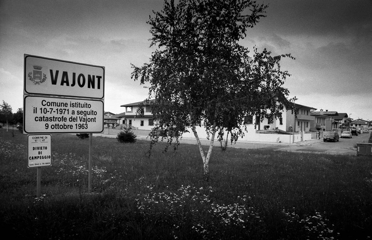 The new town of Vajont was inaugurated in 1971. This is where most of the people who were evacuated 8 years earlier were transferred as the authorities refused them to return to their own houses.