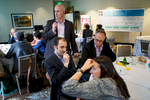 Participants meet and brainstorm innovative healthcare solutions at the Bill and Melinda Gates Foundation annual product development challenge. Seattle, WA., April 26, 2016.