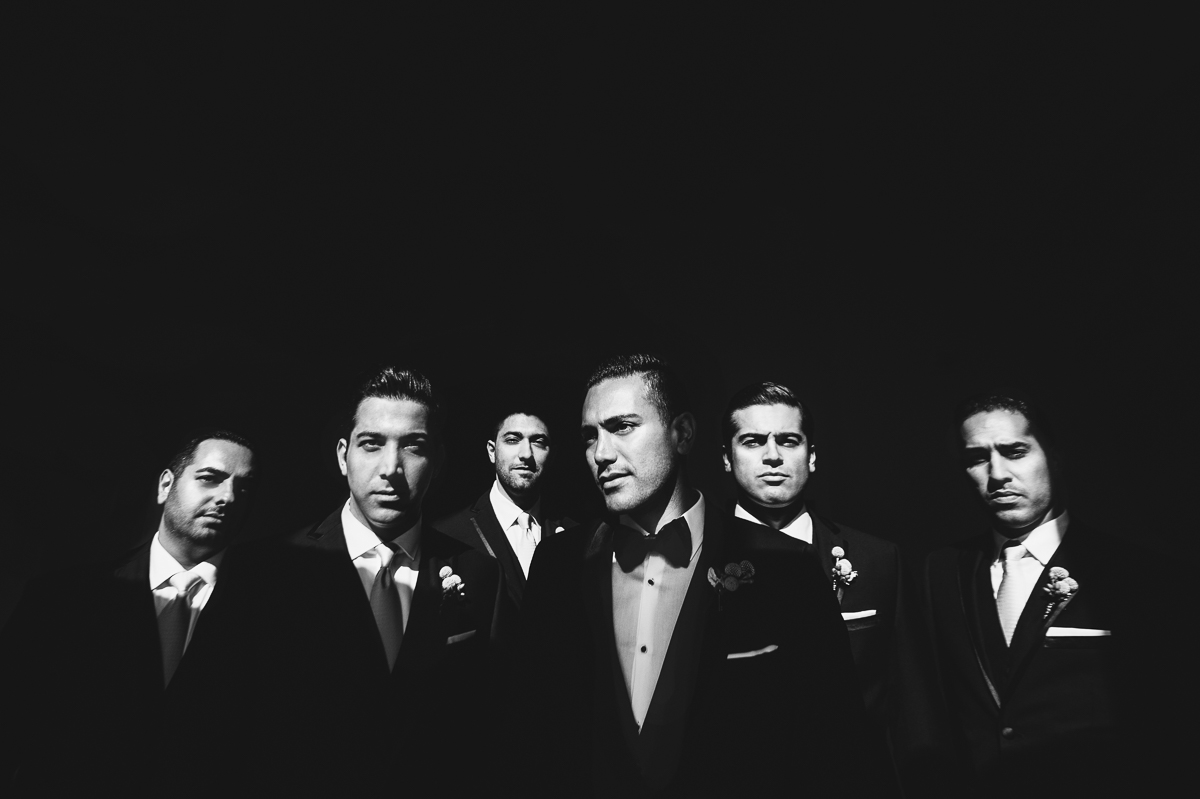 St Regis Monarch Beach Wedding Groomsman