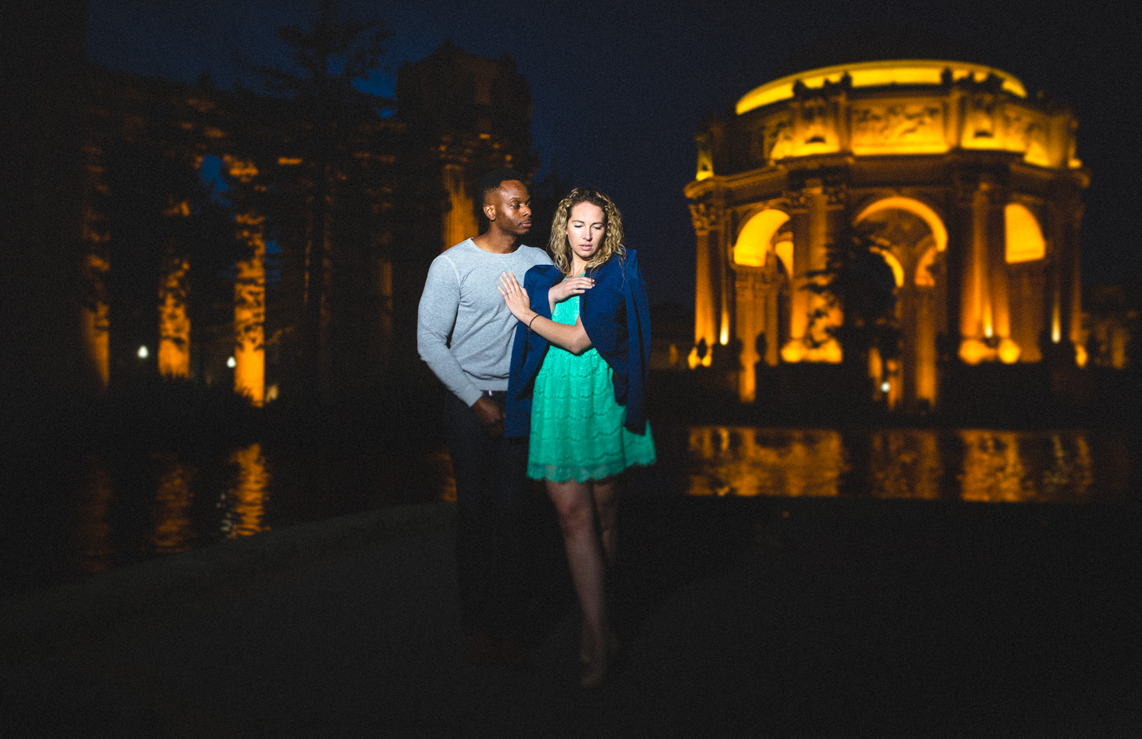 Palace-of-fine-arts-engagement