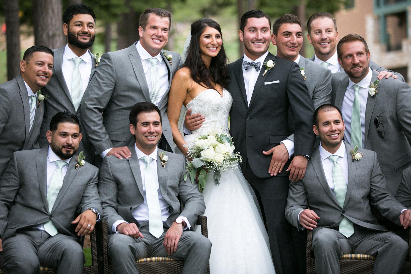 Tahoe-Ritz-groom-with-bride-and-groomsmen