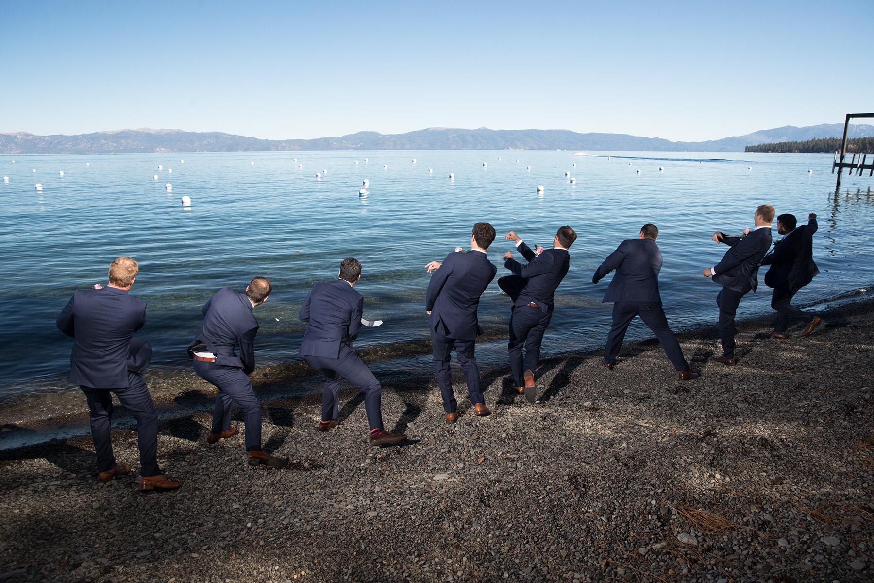 Tahoe-lake-weddings-blue-sky