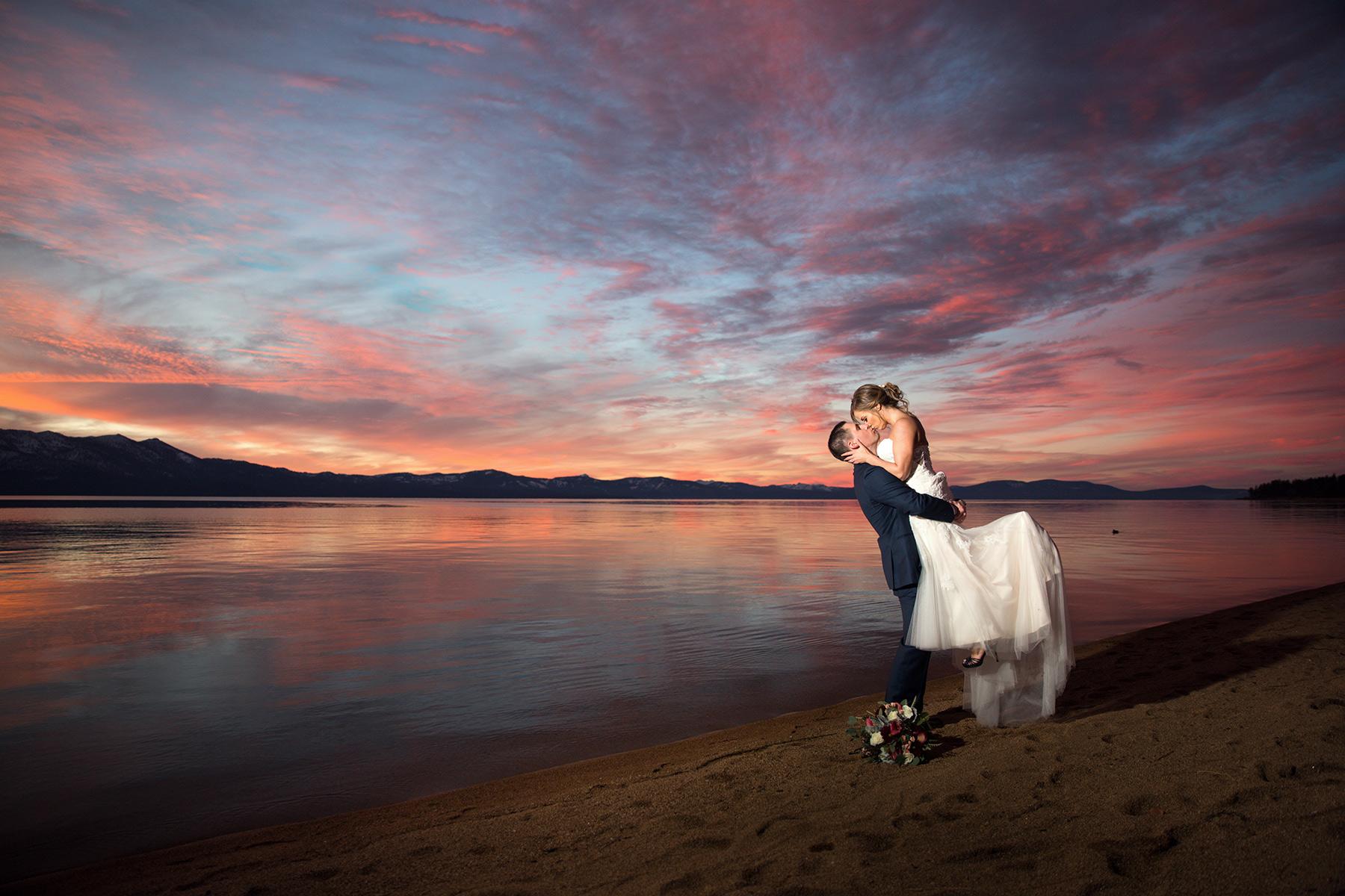 beautiful-sunset-Edgewood-weddings