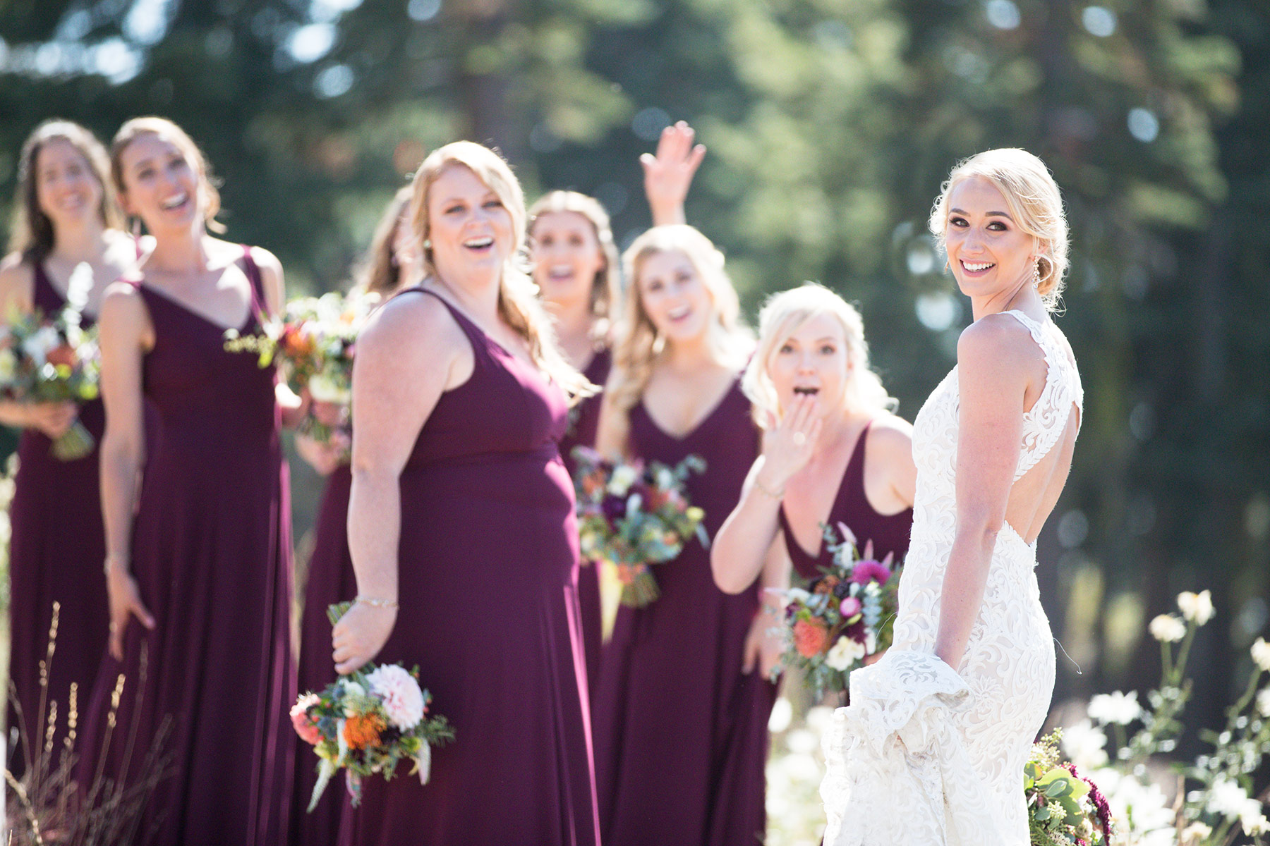 bride-and-bridesmaids-Tahoe-Zephyr-Lodge-Northstar