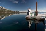 bride-and-groom-Tahoe-pier-wedding-spring