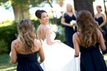 bride-and-sisters-Tahoe-wedding-Hyatt