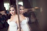 bride-mirrored