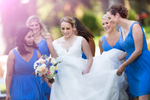 bridesmaids-and-bride-Hyatt-Tahoe