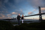 engagement-San-Francisco-bridge