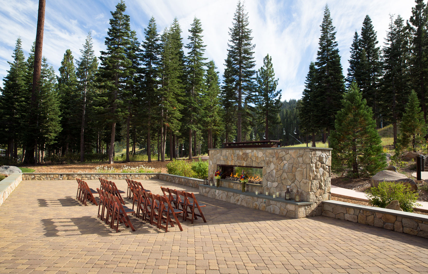 Fireside Terrace at The Ritz-Carlton Lake Tahoe