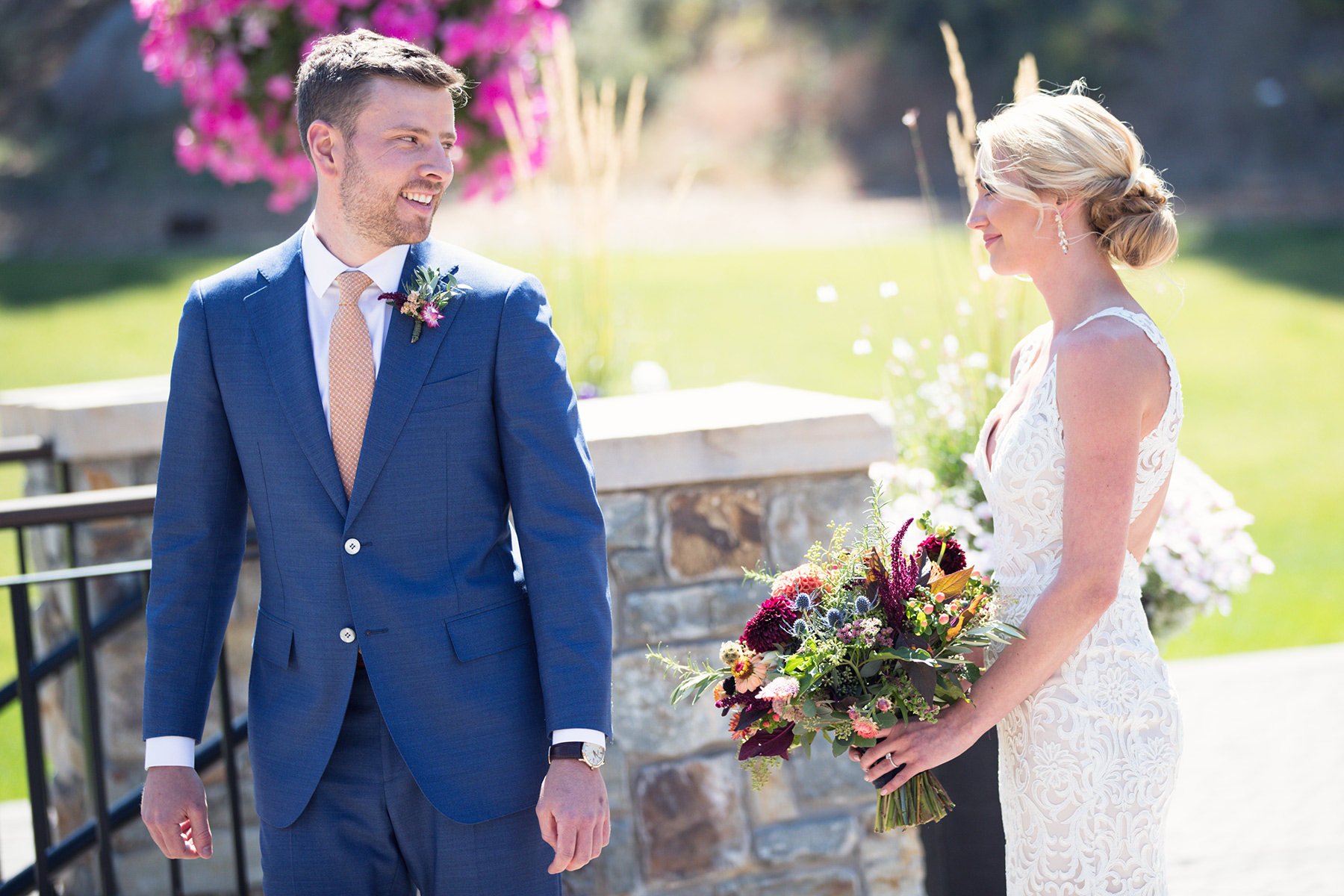 first-look-bride-and-groom-Tahoe