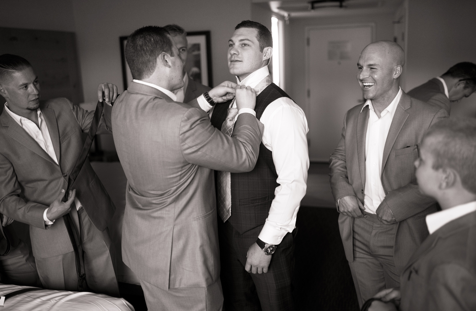 groom--getting-ready-Hyatt-Tahoe