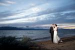 Sunset at Edgewood, Lake Tahoe wedding