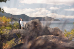 rocks-and-clouds-Tahoe-engagement-photography