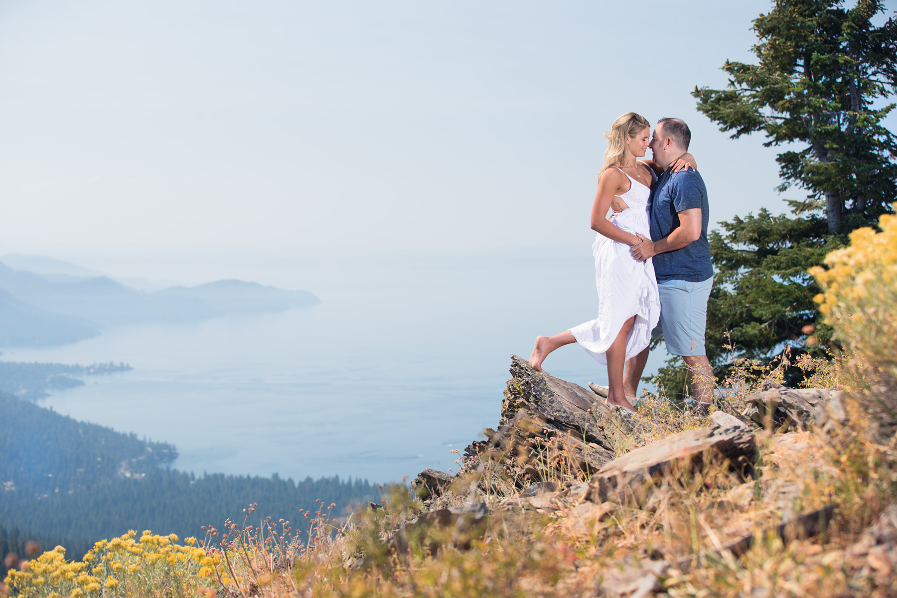 scenic-Tahoe-engagement-photo