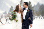 Winter wedding in Squaw Valley