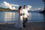 sunset-north-Tahoe-beach-wedding