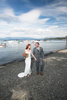walking-beach-Tahoe-wedding