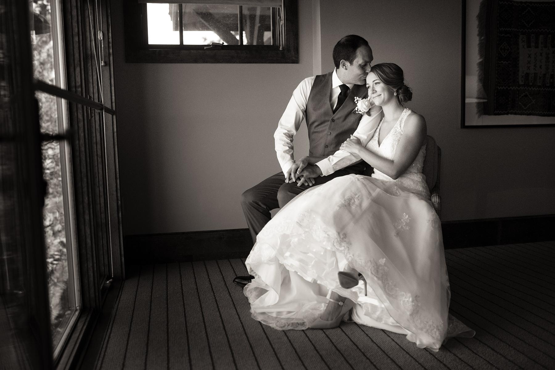 west-shore-cafe-bride-and-groom-pier-wedding