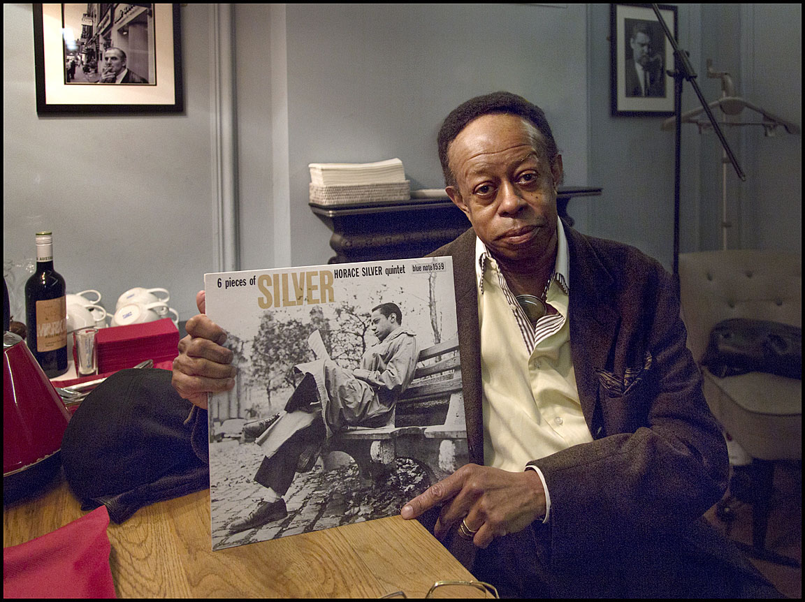 """This LP was recorded in 1956 with Horace Silver (I chose it)  because it was my first. When I first came to New York I had the opportunity to record this album and I enjoyed all the music that he had written for it so it will always be one of the most special albums I've ever recorded - Horace Silver and all the musicians that participated on the album.""Louis Hayes: Ronnie Scott's, London, 9th February 2017Horace Silver: 6 Pieces Of Silverreleased 1957Louis Hayes"