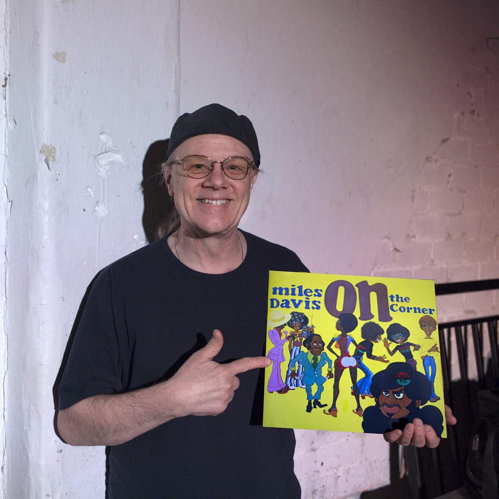 """It's an album from 1972  and it's Miles Davis 'On The Corner'. I think there's no artist in any field of music that I have listened to more in my life than Miles. I've got all The Beatles albums - we're in Liverpool now while we're speaking. I listen to The Beatles a lot - can't get away from The Beatles - I love 'em. Miles is the only artist I listen as much or sometimes even more than the Fab Four, and I love every period of his work, whether it's the early bebop recordings, or  Birth Of The Cool, Kind of Blue, Bitches Brew or the later stuff after he came out of retirement - I love every period of Miles. Sometimes people like only certain periods of his career and albums because he changed so much – always moving forwards.The album that I've chosen comes from one of his most far out periods - I think far out is a good term to use! Kicking in about 1968, 1969 with In A Silent Way and Bitches Brew he started to get really out there! 1972's album 'On The Corner' wasn't particularly well received - the world wasn't ready for it - it was ahead of its time - I think it's still ahead of its time. It's supposed to be one of his most 'difficult' albums but I loved it from day one and I've listened to it most days since!It predates a lot of techniques now used in recording, he used drum and bass loops and dub techniques. It's a mixture of live playing and editing which Miles and his producer Teo Macero were much into at the time, recording long long jams which they would edit into kind of suites, you know.It's got some fabulous musicians on it - obviously Miles himself playing electric trumpet,Chick Corea and Herbie Hancock playing keyboards, John McLaughlin on guitar, Dave Liebman on saxophone, and the great Michael Henderson playing bass, to name but a few. These were long groove pieces. I remember when the album came out on vinyl it had track names but as the side went through the needle just carried on with no change - that was pretty hip I thought!I love lots of groove based music - I love The Prodigy for instance - people don't expect me to like The Prodigy but I do, aways did. I don't know if Liam Howlett who writes most of that stuff for The Prodigy ever heard On The Corner - I don't know if it influenced him.  Maybe he never heard it, but I think if he did hear it he'd probably dig it. I must ask him if we ever have The Prod at Cropredy!!! On The Corner also mixed tabla and sitar in there - so Miles was doing ""World Music"" long before the term was coined. He also said at this time that he'd been influenced by the great composer Karlheinz Stockhausen. The British cellist Paul Buckmaster contributed some arrangements and played cello on there - so it's got the lot! The cover art was by a hip artist and friend of Miles called Corky McCoy. I still think 'On The Corner' is waiting for the world to catch up, you know!{quote}Ric Sanders: Camp and Furnace, Liverpool, 27th February 2016Miles Davis: On the Corner released 1972Ric SandersFairport Convention"