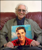 """""""The album is simply called Elvis - by this time he'd moved to RCA, so he'd left Sun Records - Bill sold him to RCA for $35,000. Then immediately he was in RCA studios in New York. I think most of that album was recorded in the RCA studios - but it's got all the classic ones on there - the one .that really lifted him into another sphere I guess. He was a massive influence on me.Before Elvis my other major influence in contemporary .. though it was far from contemporary - was Lonnie Donegan because it was so different then to me as a kid. When I was 14 or 15 and heard Rock Island Line I just thought it was unbelievable. And it was only years later when I realised that it was an old Leadbelly number but makes no difference - what Donegan did with it was great. I guess that was my first musical influence but the one that really hit me hardest and stayed with me that was Elvis. And as I say the album was called simply Elvis and a pink headshot of him on the front. But he's still got Bill Black and Scotty Moore and his drummer - his name escapes me (D.J.Fontana) - they were the nucleus of the band then. He did things like Lawdy Miss Clawdy, which is an old Lloyd Price maybe - or someone like that. So he did plenty of covers - probably all covers - but wonderful album - just the recording the wonderful chemistry of the recording which happens from time to time - and it frequently happened with The Beatles of course in those early days. Well That's all right Mama - I never get tired of listening to that. All that early Sun stuff - Sam Philips- incredible.{quote}WE. Would you say it was to do with age at that time... did I it strike you as just a key moment in your musical development?{quote}Oh definitely cause I've got two older brothers, one of them is quite musical... played piano pretty good but he was into, was of, the Frankie Laine /Johnny Ray era, but I was a bit young for that. I still enjoyed it, I really liked Johnny Ray and Franke Laine. A lot of those - you real"""