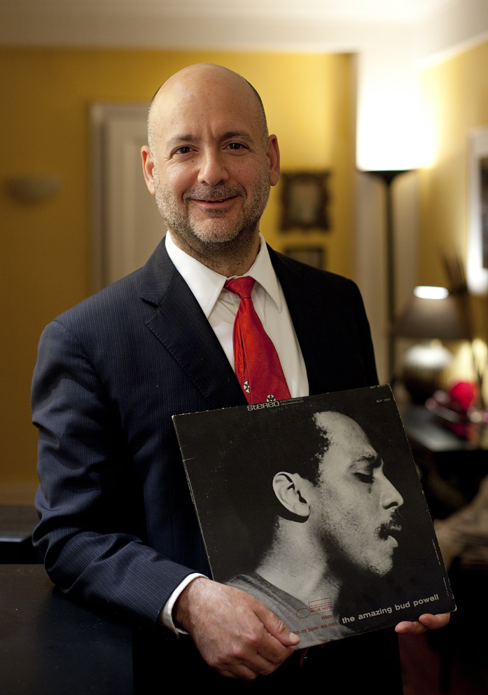 """It's The Amazing Bud Powell – it's a beautiful picture, out on Blue Note. This is a focal point for so many of us.I think maybe three generations have come out of here, all playing differently – Tommy Flanagan, Barry Harris, Hampton Hawes, Red Garland – I could keep going.They all sound different but they all visit here – then the next generation had to go back and check it out – guys my age.They thought they didn't have to – then went back and checked it out – everybody checks out Bud.They don't all sound the same - because there's enough of a seed in here that everybody can sprout off in different directions – it's great music.""Tardo Hammer: At the home of Annie Ross, New York City, 1st May 2013Bud Powell: The Amazing Bud Powell - released 1951Tardo Hammer"