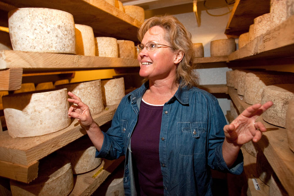 {quote}Help me out. Don't just try and kill me.{quote} specialty cheesemaker Kelli Estrella  says of her frustration in dealing with the the Food and Drug Administration at the Estrella Family Creamery in Montesano,Wash.  on November 4, 2010.   The FDA  ordered the Estrella Family Creamery in Montesano,Wash.  to stop processing cheeses after it found listeria bacteria on some of the cheeses this year.  The family says they have made many renovations on the farm and the bacteria is only found on the soft cheese, not everything.  They believe they should be allowed to resume making cheese and sell the hard cheeses they have already made at the facility.  The creamery is one of Washington's most famous artisan cheesemakers.  (photo credit Karen Ducey)